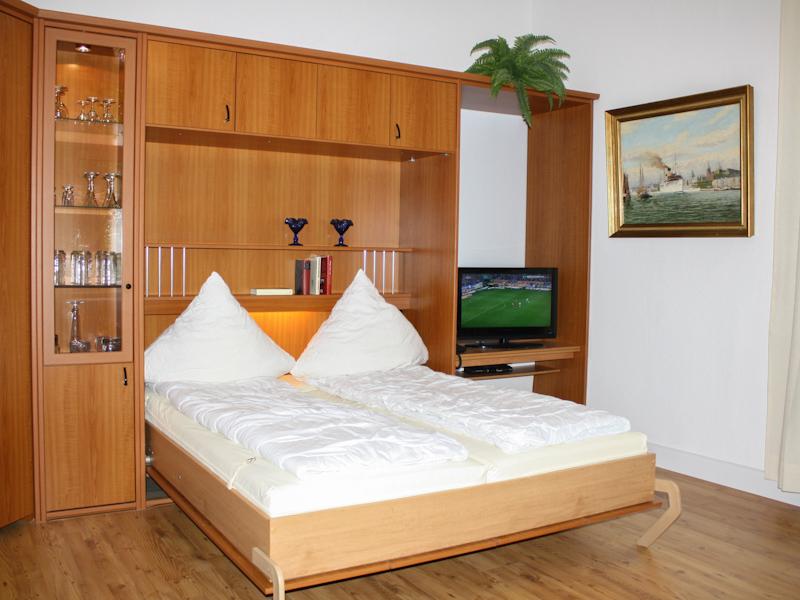 Ferienwohnung 4 Wohn-Schlafraum